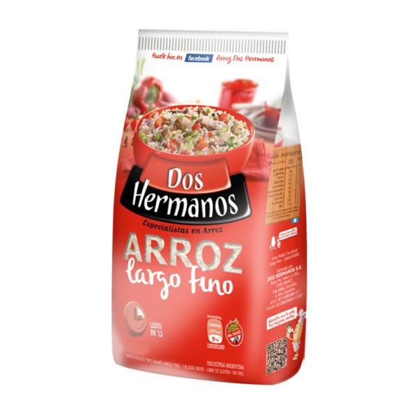 ARROZ DOS HERMANOS LF x 1 KG