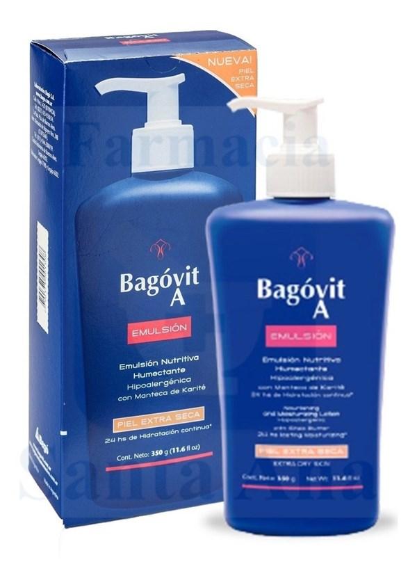 Bagovit Emulsion Piel Extra Seca 350 ml.