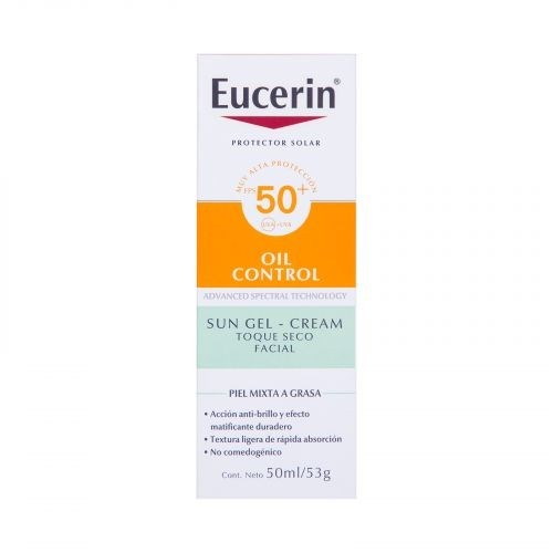 Eucerin Protector Solar Facial Toque Seco Sun Oil SPF 50 50ml