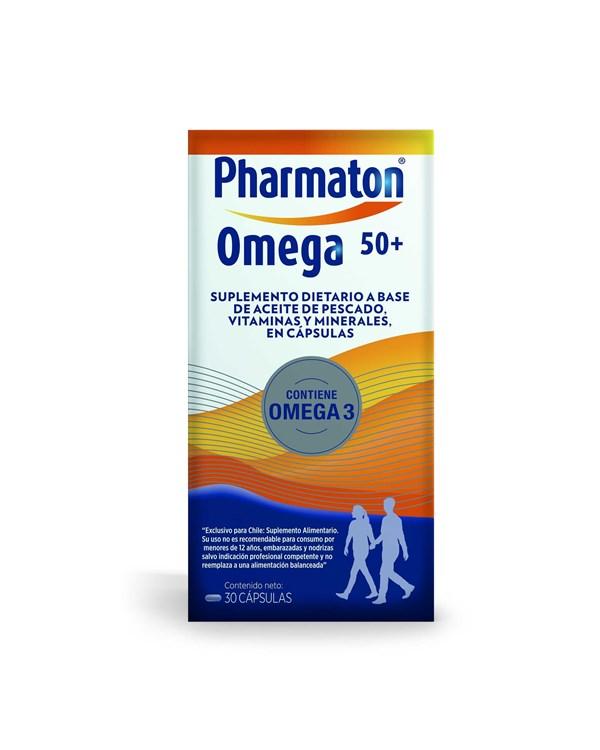 Pharmaton Omega 50+ x30 cápsulas