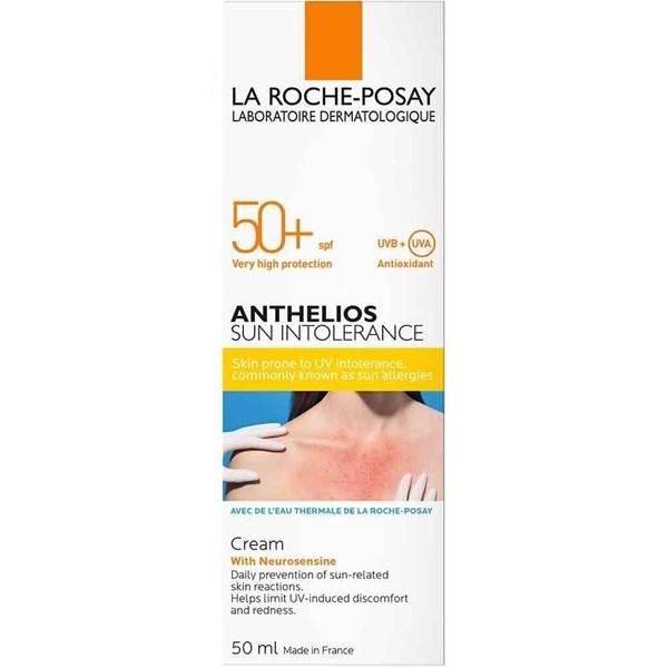 La Roche Posay Fotoprotector Anthelios Intolerancia Solar FPS 50 50ml #1