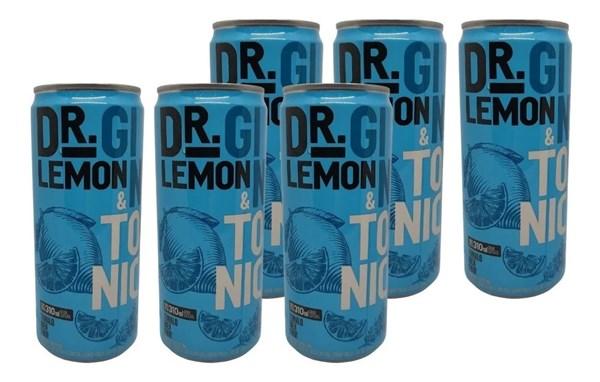 DR LEMON LATA GIN TONIC X 6 x 310CC
