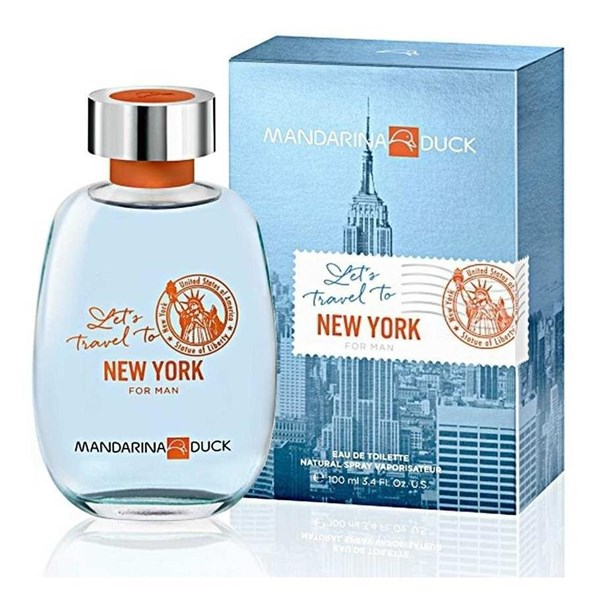 Mandarina Duck Lets travel to New York for Man 100ml
