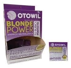 Otowil Shampoo Neutralizador Blonder Power Sachet x10gr