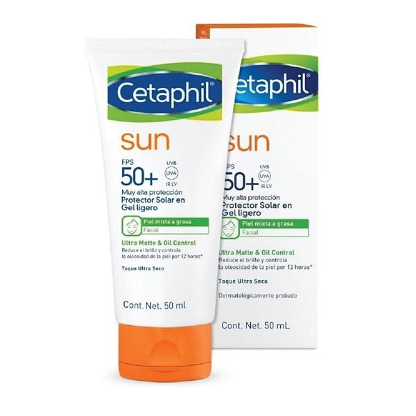Cetaphil Sun SPF50 Facial Sin Color x50ml #1