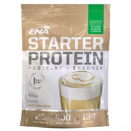 Starter Protein polvo 400 g Sabor Cafe con Leche