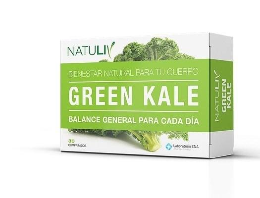 NATULIV Green kale x 30 comp