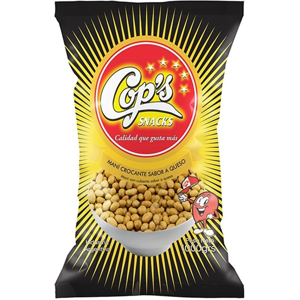 MANI COOPS SABOR.QUESO x 1 KG