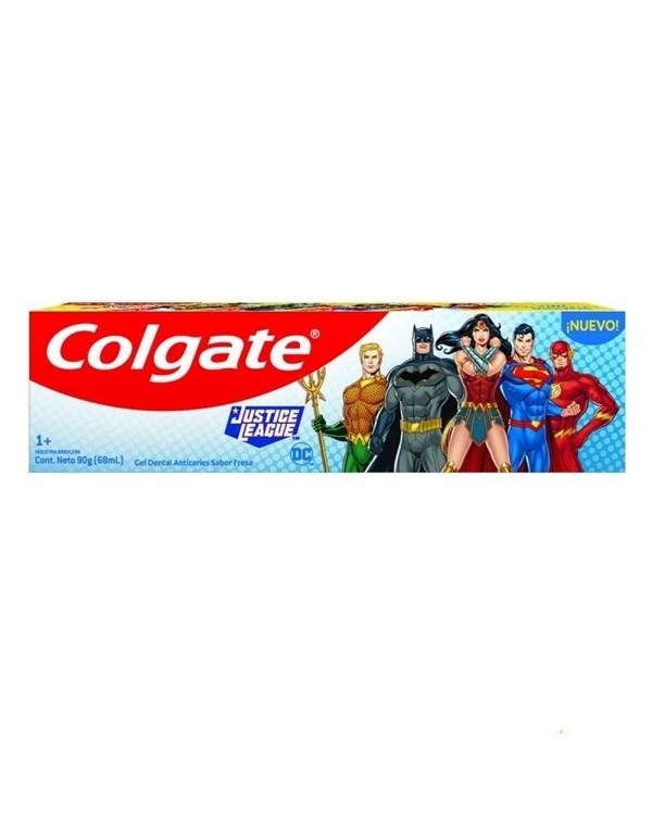 Colgate Crema Dental Infantil League Justice Fresa 90g