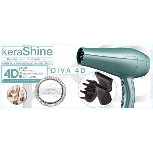 Gama, secador de pelo Diva 4D KeraShine  alt