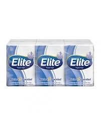 Elite Pañuelos Descartables Con Extracto De Seda x6