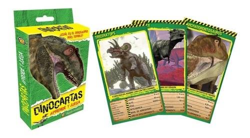 DinoCartas Aprende y Juega Dinosaurios al Extremo  #1