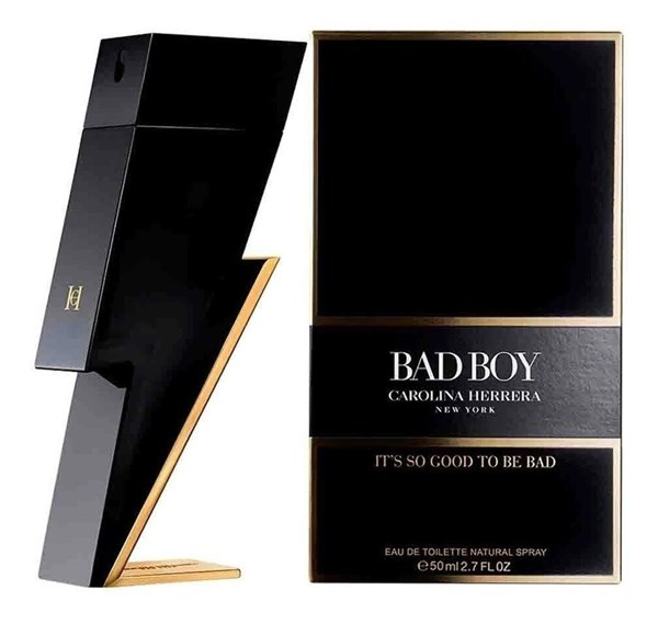Perfume Carolina Herrera, Bad Boy x 50 Edt