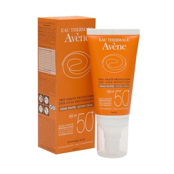 Avene Solar Spf 50 Crema color 50ml
