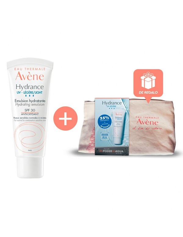 Avene El Poder Del Agua Kit Hydrance Legere UV 40 Ml + Necessaire alt