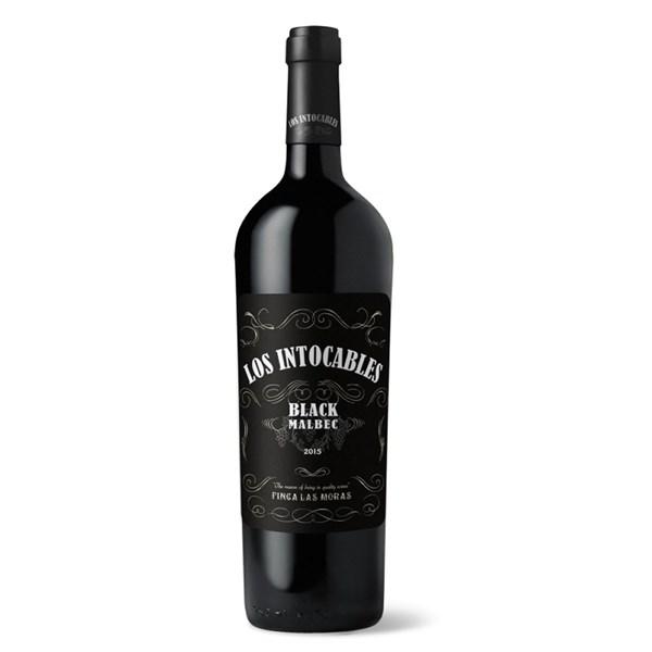 LOS INTOCABLES BLACK MALBEC x 750 CC