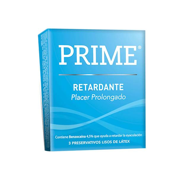 Preservativos Prime Retardante X 3 Unidades