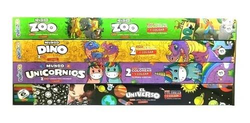 Super Láminas Para Colorear Mundo Zoo