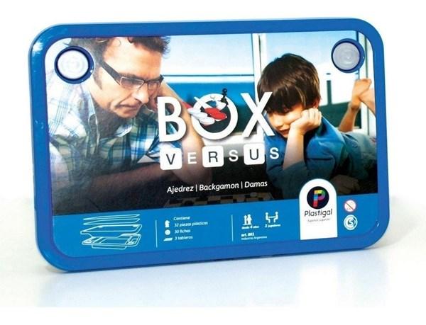 Box Versus Juegos Ajedrez Damas BackGammon
