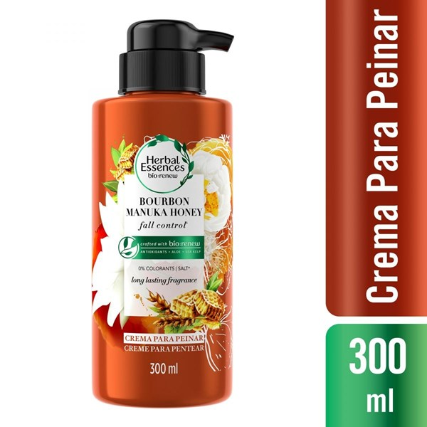 Herbal Essences Crema Para Peinar x300ml Manuka Honey