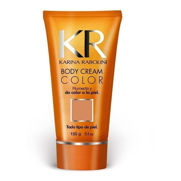 Karina Rabolini Body Cream Autobronceante Tono Medium 150g