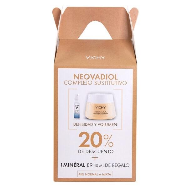Bom Vichy Neovadiol Complejo Sustitutivo Pnm  x 50 ml + Mineral 89 x 10 ml de Regalo #1