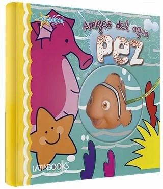 Libro Amigos del Agua Pez Aqualibros