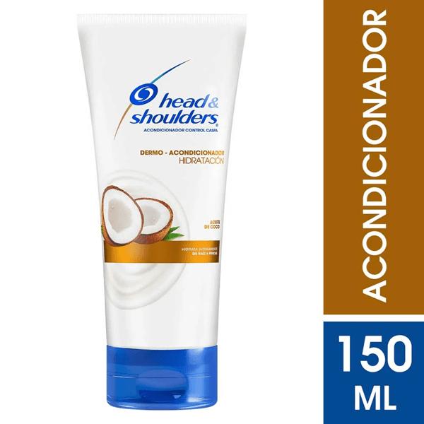 Head & Shoulders Acondicionador Hidratación Aceite De Coco X 150 Ml