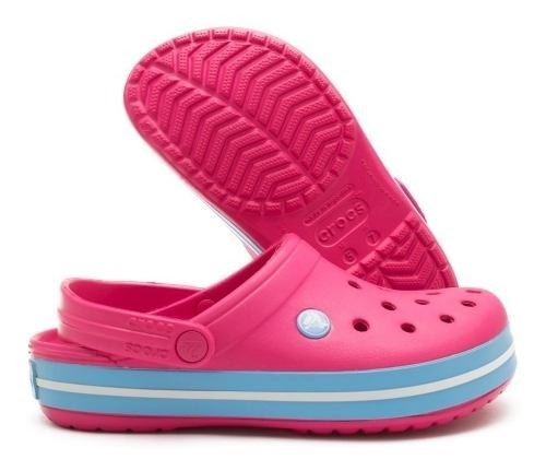 Crocs Band Candy Pink Bluebell Calzado Nº 39  alt