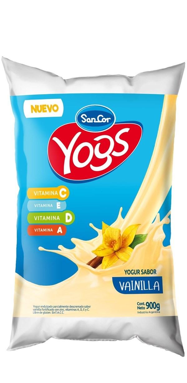 Yogur Sancor Yogs Vainilla x 1 LT