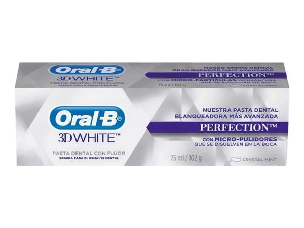 Pasta Dental Blanqueadora Oral-b 3d White Perfection 102 Grs