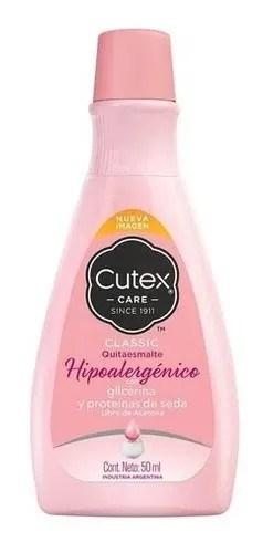 Cutex Quitaesmalte Hipoalergénico 50ml