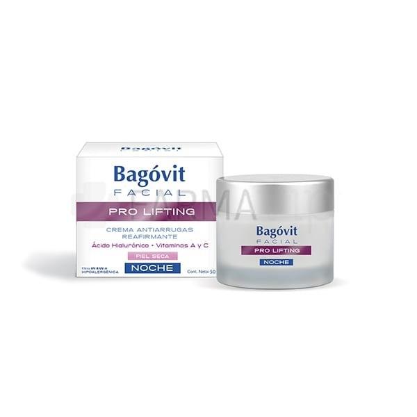 Bagovit Facial Pro Lifting Crema Antiarrugas Noche 55 gr