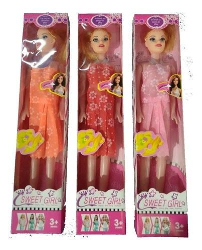 Muñecas Sweet Girl En Caja x1