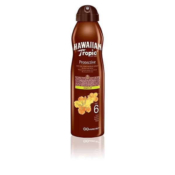 Hawaiian Tropic Argan Oil Spray Spf6 X 180Ml