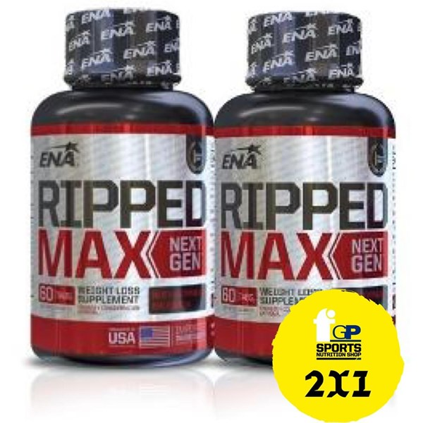 Ripped Max Next Generation X 60 Comprimidos 2x1