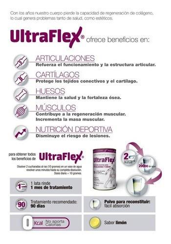 Ultraflex Colágeno Hidrolizado Para Articulaciones Y Huesos 300 g alt