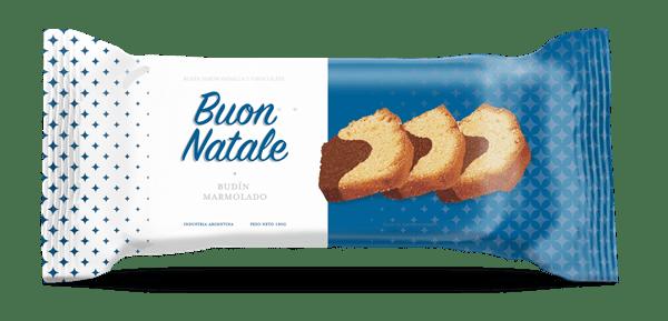BUDIN BUON NATALE MARMOLADO x 180 GRS