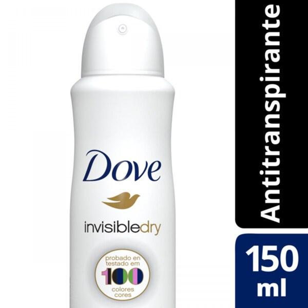 Desodorante Dove Invisible Dry Aer Ap X 89 Gr