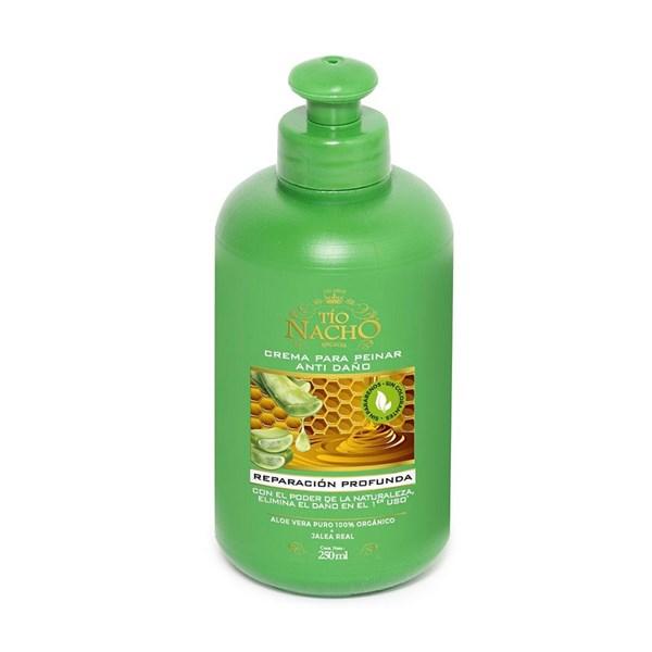 Crema Para Peinar Aloe Vera Tio Nacho x 250 gr