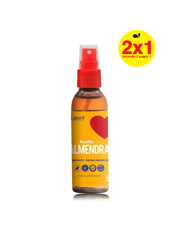 Laborit Aceite Almendras Spray Hidratante 75ml 2x1