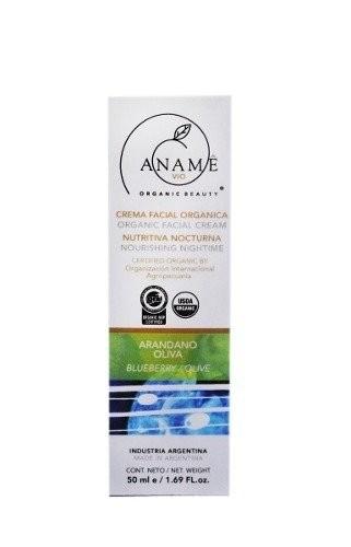 Crema Facial Hidratante Orgánica - Arándano- Oliva 50 ml #1