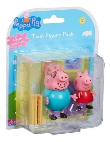 Figuras Peppa Pig Set x2  alt