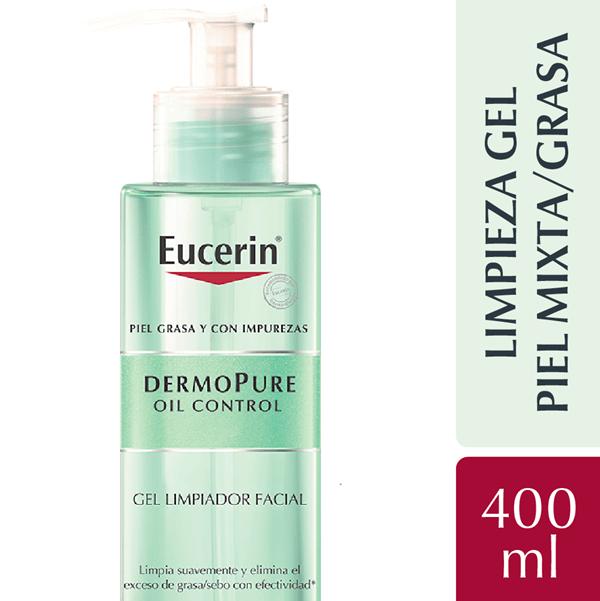 Eucerin Dermopure Oil Control Gel Limpiador X 400 Ml