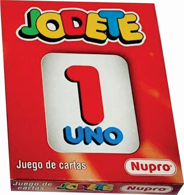 Mini Jodete Cartas Nupro
