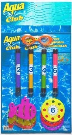 Set De Buceo Antiparras + Accesorios Aqua Club