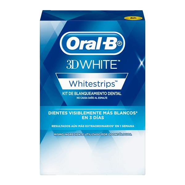 Oral-B Cintas Dentales Blanqueadoras 3D White x28 Sobres