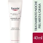 Eucerin Dermopure Oil Control Crema Accion Intensiva Noche X #1