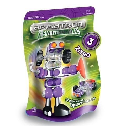 Transformer Armatron 3 Zitro Juguete Rasti
