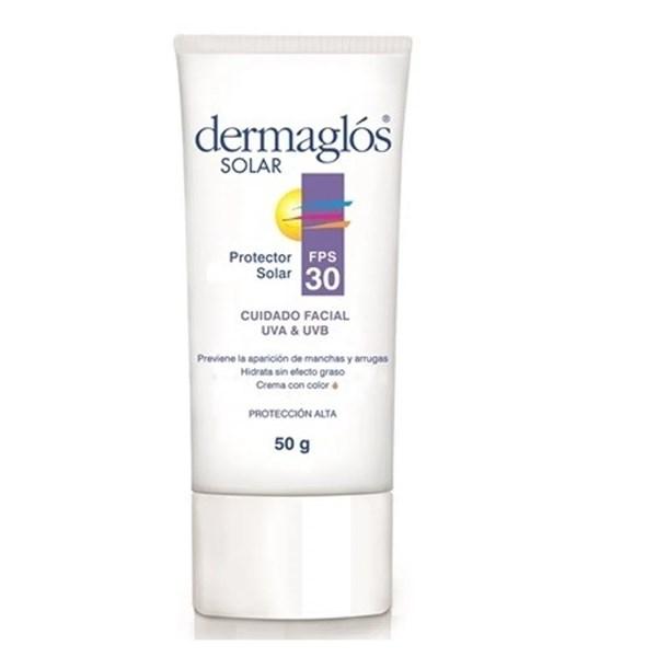 Dermaglos Protector Solar Facial FPS 30 Matificante 50g